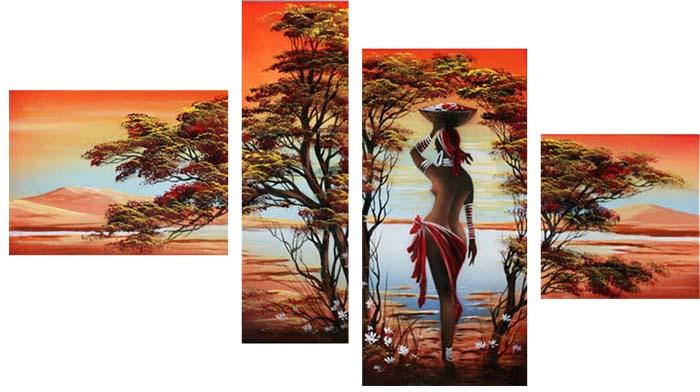 Картина Арт78 Заморские дары, модульная, 135 х 90 см. арт780059-244451Ничто так не облагораживает интерьер, как хорошая картина. Особенную атмосферу создаст крупное художественное полотно, размеры которого более метра. Подобные произведения искусства, выполненные в традиционной технике (холст, масляные краски), чрезвычайно капризны: требуют сложного ухода, регулярной реставрации, особого микроклимата – поэтому они просто не могут существовать в условиях обычной городской квартиры или загородного коттеджа, и требуют больших затрат. Данное полотно идеально приспособлено для создания изысканной обстановки именно у Вас. Это полотно создано с использованием как традиционных натуральных материалов (холст, подрамник - сосна), так и материалов нового поколения – краски, фактурный гель (придающий картине внешний вид масляной живописи, и защищающий ее от внешнего воздействия). Благодаря такой композиции, картина выглядит абсолютно естественно, и отличить ее от традиционной техники может только специалист. Но при этом изображение отлично смотрится с любого расстояния, под любым углом и при любом освещении. Картина не выцветает, хорошо переносит даже повышенный уровень влажности. При необходимости ее можно протереть сухой салфеткой из мягкой ткани.