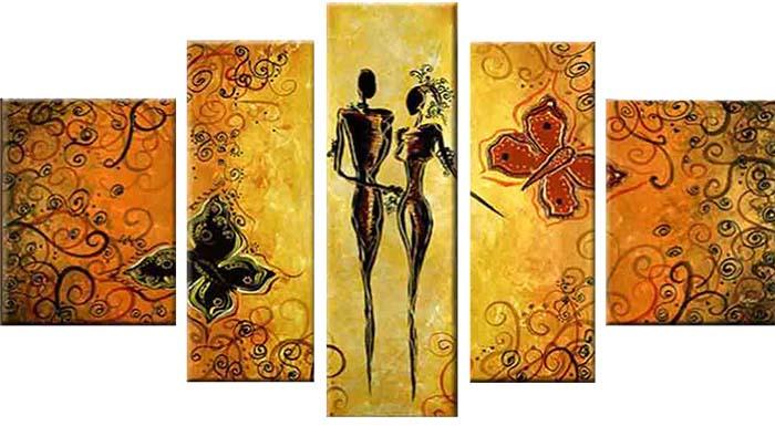 Картина Арт78 Силуэт, модульная, 90 х 50 см. арт780073-344454Ничто так не облагораживает интерьер, как хорошая картина. Особенную атмосферу создаст крупное художественное полотно, размеры которого более метра. Подобные произведения искусства, выполненные в традиционной технике (холст, масляные краски), чрезвычайно капризны: требуют сложного ухода, регулярной реставрации, особого микроклимата – поэтому они просто не могут существовать в условиях обычной городской квартиры или загородного коттеджа, и требуют больших затрат. Данное полотно идеально приспособлено для создания изысканной обстановки именно у Вас. Это полотно создано с использованием как традиционных натуральных материалов (холст, подрамник - сосна), так и материалов нового поколения – краски, фактурный гель (придающий картине внешний вид масляной живописи, и защищающий ее от внешнего воздействия). Благодаря такой композиции, картина выглядит абсолютно естественно, и отличить ее от традиционной техники может только специалист. Но при этом изображение отлично смотрится с любого расстояния, под любым углом и при любом освещении. Картина не выцветает, хорошо переносит даже повышенный уровень влажности. При необходимости ее можно протереть сухой салфеткой из мягкой ткани.