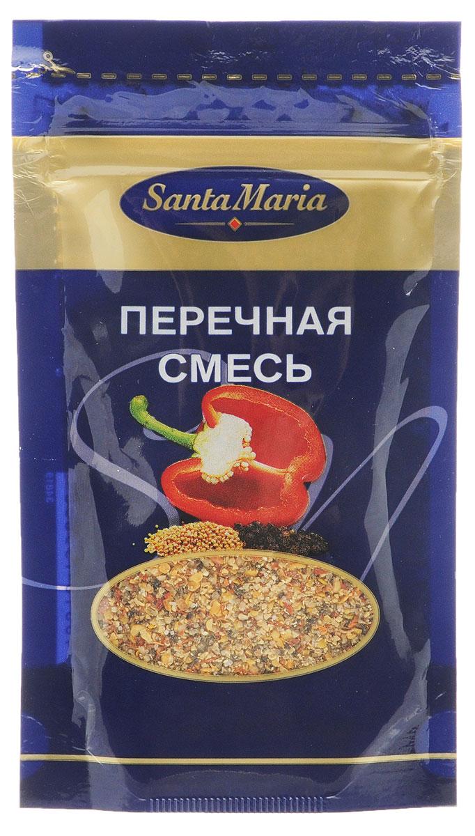 Santa Maria Перечная смесь, 20 г0120710Перечная смесь – очень ароматная пряная смесь на основе черного перца и паприки. Подходит для приготовления мясных, рыбных и овощных блюд, супов и соусов, жареного мяса, маринадов, блюд на гриле.Уважаемые клиенты! Обращаем ваше внимание, что полный перечень состава продукта представлен на дополнительном изображении.