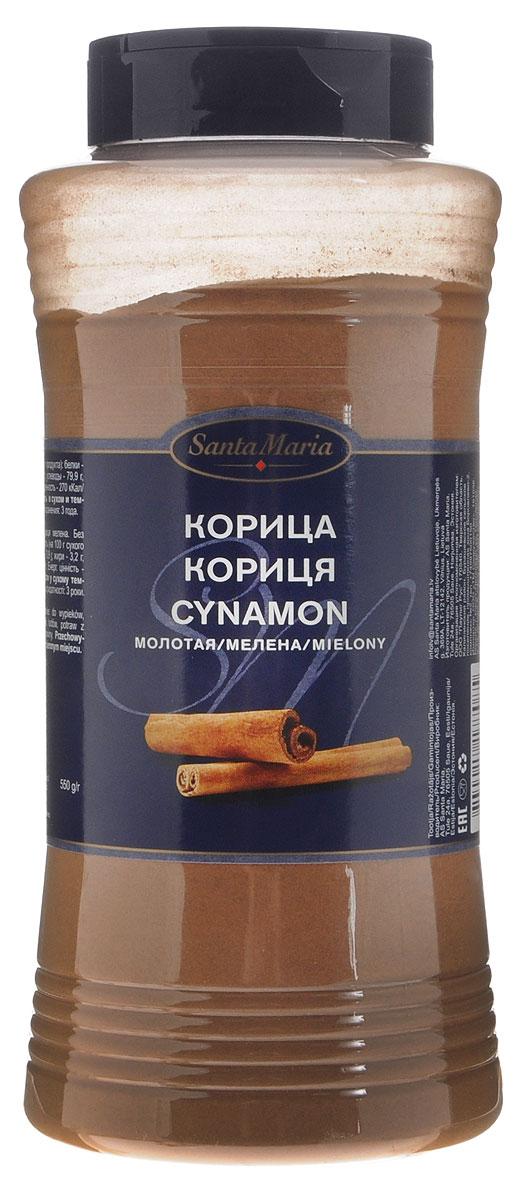 Santa Maria Корица молотая, 550 г17708Корица обладает ярко выраженным жгучим вкусом и теплым ароматом. Используется при приготовлении фруктов, каш и различных десертов, в острых блюдах из курицы или баранины, а также при консервировании.