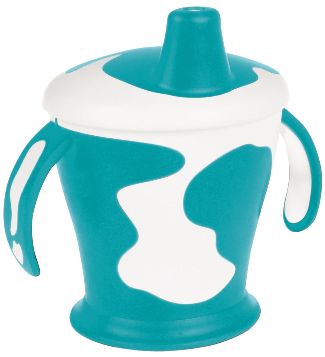 Canpol Babies Поильник-непроливайка Little Cow 250 мл цвет бирюзовый