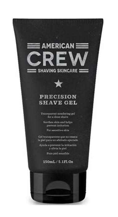 American Crew Гель для бритья Precision Shave Gel 150 мл800537572Во время бритья кожа нуждается в особом уходе. Поэтому в American Crew разработали специальное средство, обеспечивающее идеальное бритье. Нежная текстура геля American Crew Precision Shave Gel помогает легкому скольжению станка и препятствует раздражению во время бритья. Экстракт тыквенных семян и винограда смягчают кожу, защищая ее от раздражения, при этом кожный покров увлажняется витамином Е, делая ее гладкой и мягкой. Продукт подходит для всех типов кожи.