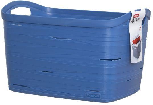 Корзина универсальная Curver Ribbon, цвет: синий, 38 x 29 x 24 смS03301004Универсальная корзина Curver Ribbon изготовлена из высококачественного пластика. Стенки оформлены перфорацией.Корзина предназначена для хранения различных предметов в ванной, на кухне, на даче или в гараже. Позволяет хранить мелкие вещи, исключая возможность их потери. Изделие оснащено удобными ручками по бокам.
