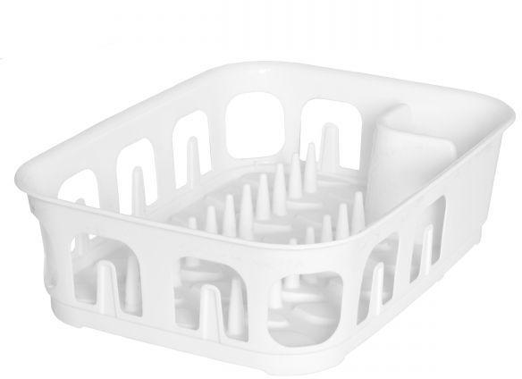 Сушилка для посуды Curver Essentials, цвет: белый, 39 х 29 х 10,1 смFA-5125 WhiteСушилка Curver Essentials, выполненная из прочного пластика. Сушилку можно установить в любом удобном месте. На ней можно разместить большое количество предметов. Вместительные размеры и оригинальный дизайн выделяют эту сушку из ряда подобных.