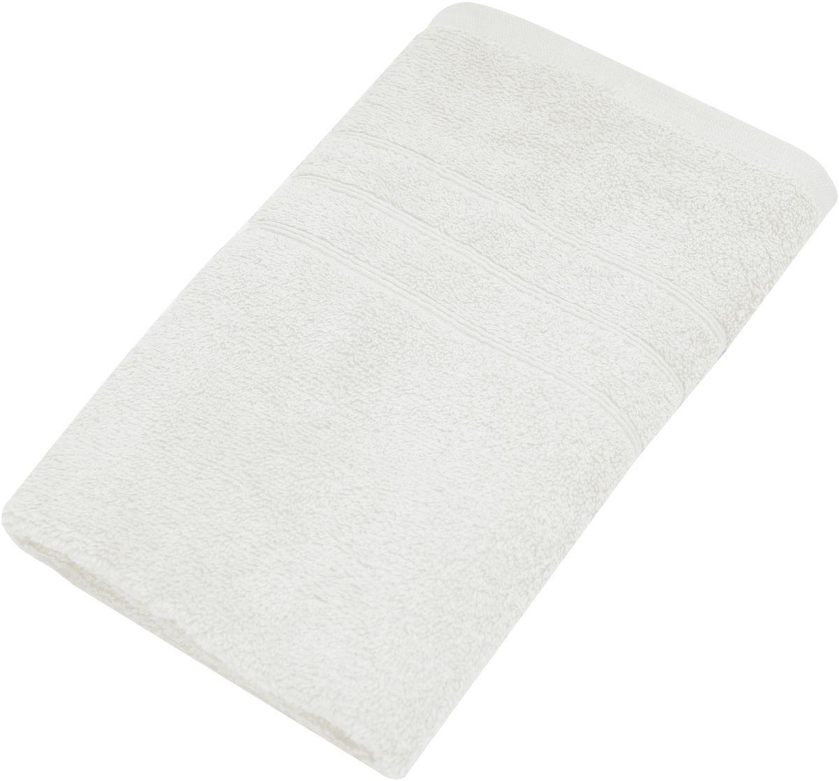 Полотенце Proffi Home Модерн, цвет: белый, 50 x 100 см1004900000360Мягкое махровое полотенцеProffi Home Модернотлично впитывает влагу и быстро сохнет, приятно в него завернуться после принятия ванны или посещения сауны. Поэтому данное махровое полотенце можно использовать в качестве душевого, банного или пляжного полотенца. Состав: 100% хлопок.