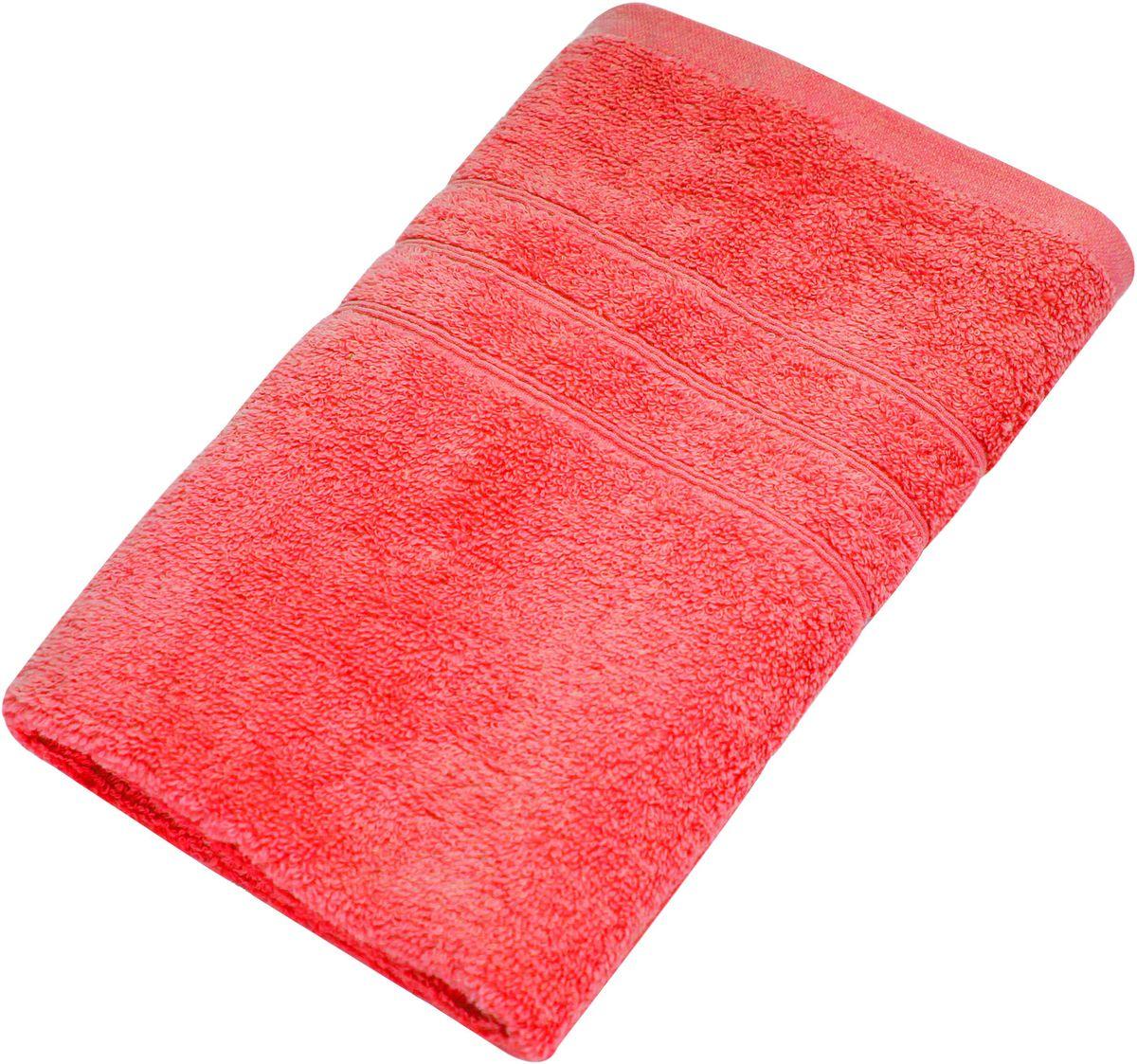 Полотенце Proffi Home Модерн, цвет: красный, 50 x 100 смU210DFМягкое махровое полотенцеProffi Home Модерн отлично впитывает влагу и быстро сохнет, приятно в него завернуться после принятия ванны или посещения сауны. Поэтому данное махровое полотенце можно использовать в качестве душевого, банного или пляжного полотенца. Состав: 100% хлопок.