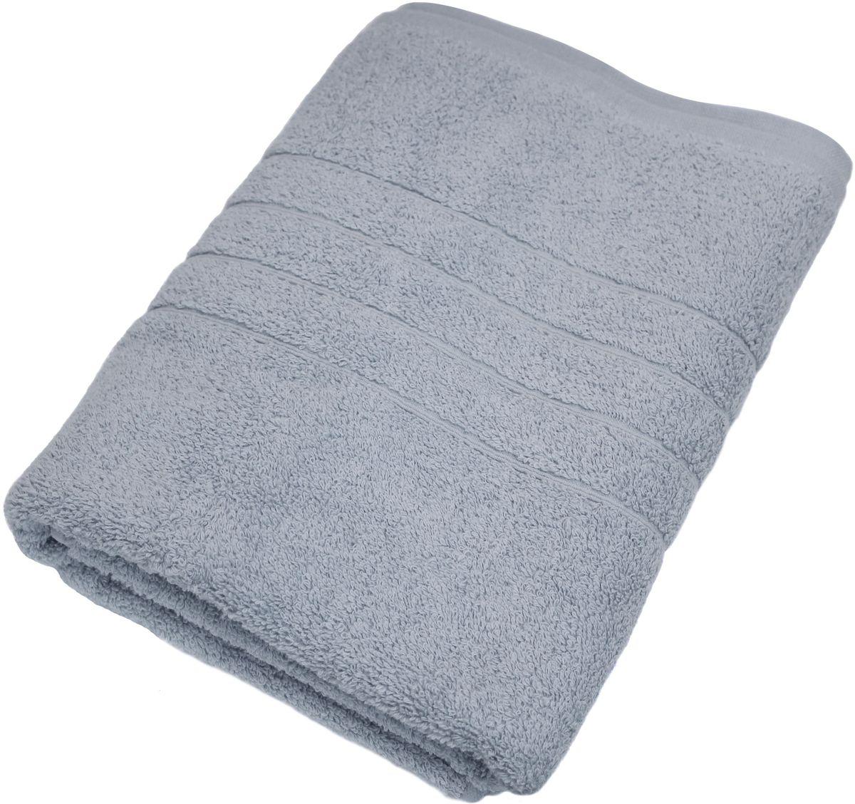 Полотенце Proffi Home Модерн, цвет: серый, 70 x 140 см531-105Мягкое махровое полотенцеProffi Home Модерн отлично впитывает влагу и быстро сохнет, приятно в него завернуться после принятия ванны или посещения сауны. Поэтому данное махровое полотенце можно использовать в качестве душевого, банного или пляжного полотенца. Состав: 100% хлопок.