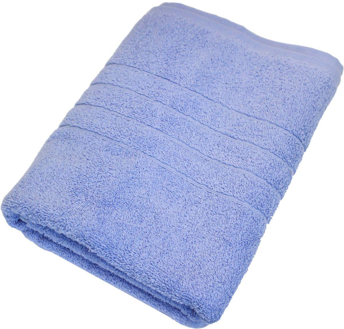Полотенце Proffi Home Модерн, цвет: голубой, 70 x 140 смS03301004Мягкое махровое полотенцеProffi Home Модерн отлично впитывает влагу и быстро сохнет, приятно в него завернуться после принятия ванны или посещения сауны. Поэтому данное махровое полотенце можно использовать в качестве душевого, банного или пляжного полотенца. Состав: 100% хлопок.