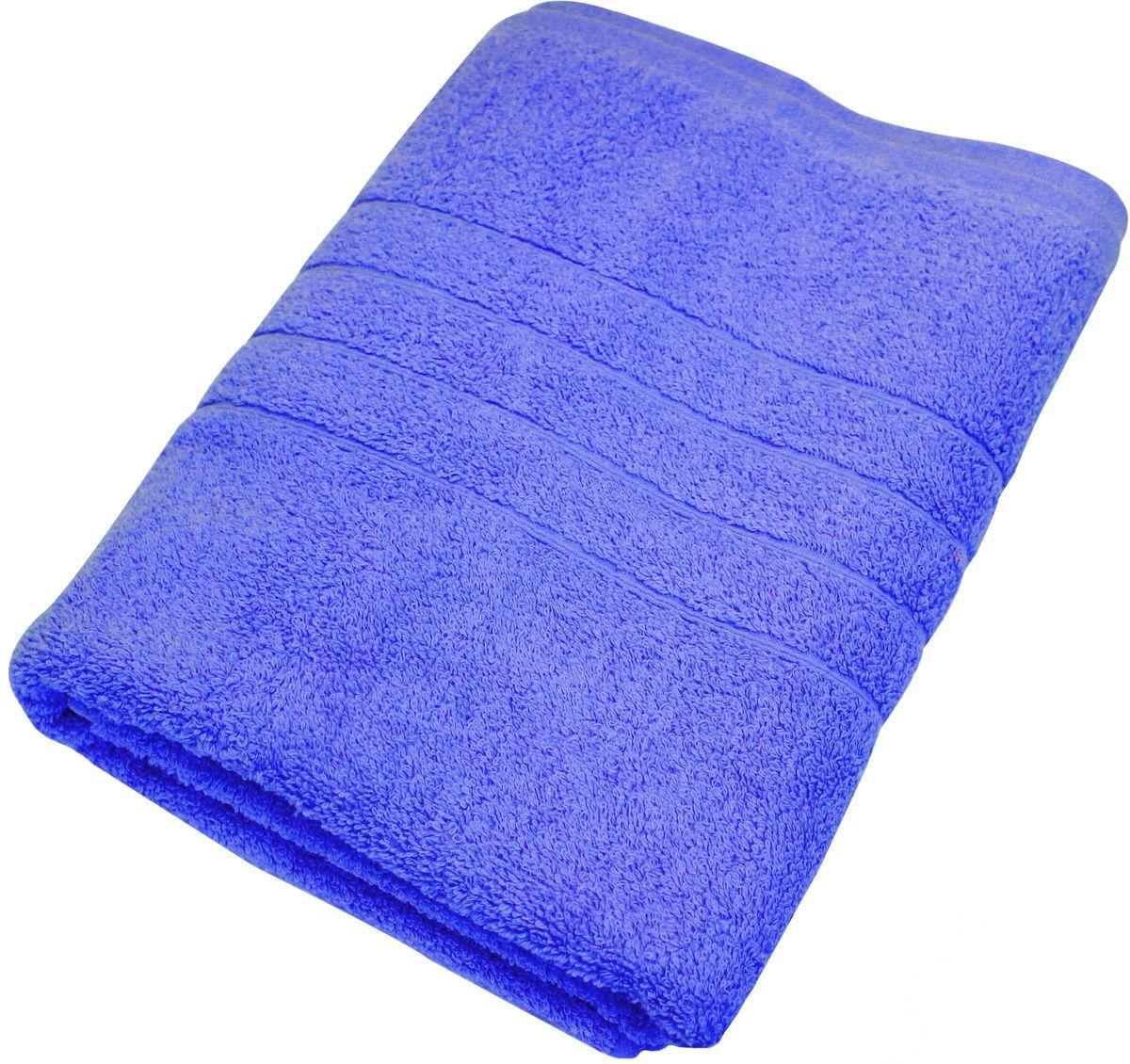 Полотенце Proffi Home Модерн, цвет: синий, 70 x 140 см68/5/1Мягкое махровое полотенцеProffi Home Модерн отлично впитывает влагу и быстро сохнет, приятно в него завернуться после принятия ванны или посещения сауны. Поэтому данное махровое полотенце можно использовать в качестве душевого, банного или пляжного полотенца. Состав: 100% хлопок.