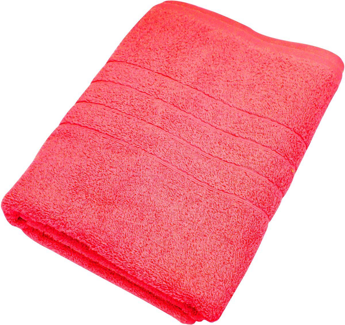 Полотенце Proffi Home Модерн, цвет: красный, 70 x 140 см1004900000360Мягкое махровое полотенцеProffi Home Модерн отлично впитывает влагу и быстро сохнет, приятно в него завернуться после принятия ванны или посещения сауны. Поэтому данное махровое полотенце можно использовать в качестве душевого, банного или пляжного полотенца. Состав: 100% хлопок.