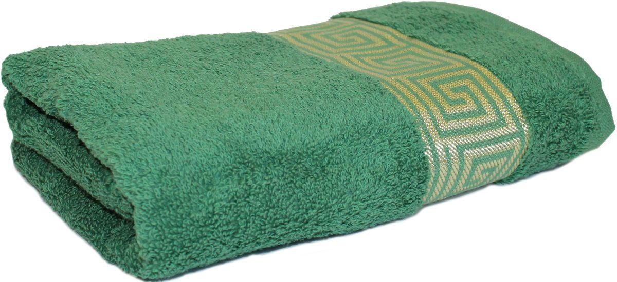 Полотенце Proffi Home Классик, цвет: зеленый, 30 x 50 см68/5/3Махровое полотенце Proffi Home Классик будет приятным добавлением в интерьере ванной комнаты. Мягкое махровое полотенце отлично впитывает влагу и быстро сохнет, приятно в него завернуться после принятия ванны или посещения сауны. Поэтому данное махровое полотенце можно использовать в качестве душевого, банного или пляжного полотенца.Состав: 100% хлопок.