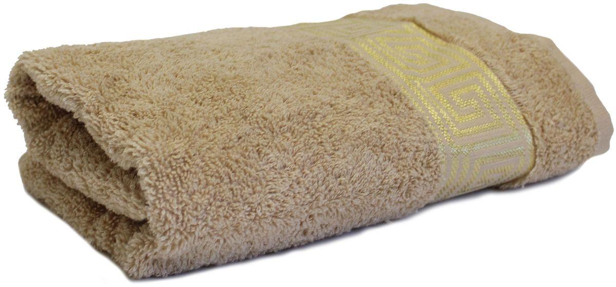 Полотенце Proffi Home Классик, цвет: бежевый, 30 x 50 см68/5/4Мягкое махровое полотенцеProffi Home Классик отлично впитывает влагу и быстро сохнет, приятно в него завернуться после принятия ванны или посещения сауны. Поэтому данное махровое полотенце можно использовать в качестве душевого, банного или пляжного полотенца. Состав: 100% хлопок.
