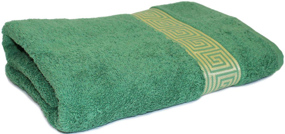 Полотенце Proffi Home Классик, цвет: зеленый, 70 x 140 см100-49000000-60Состав: 100% хлопок.
