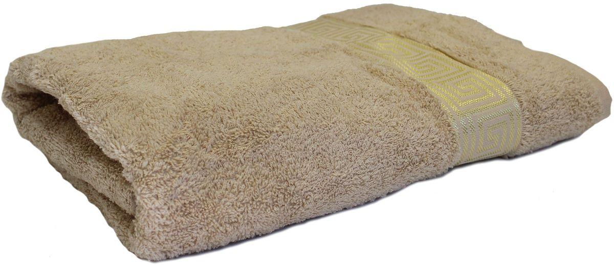 Полотенце Proffi Home Классик, цвет: бежевый, 70 x 140 см531-105Мягкое махровое полотенце Proffi Home Классик отлично впитывает влагу и быстро сохнет, приятно в него завернуться после принятия ванны или посещения сауны. Поэтому данное махровое полотенце можно использовать в качестве душевого, банного или пляжного полотенца. Состав: 100% хлопок.