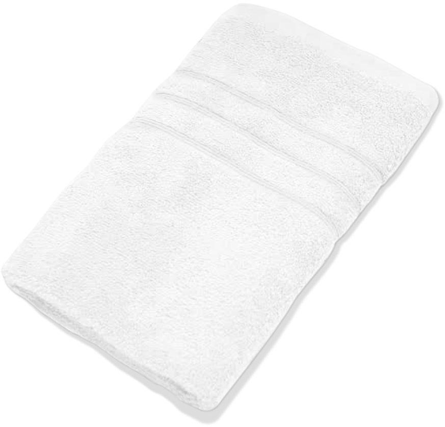 Полотенце Proffi Home Модерн, цвет: снежно-белый, 50 x 100 см proffi шторка для ванной proffi home жасмин 180х200см