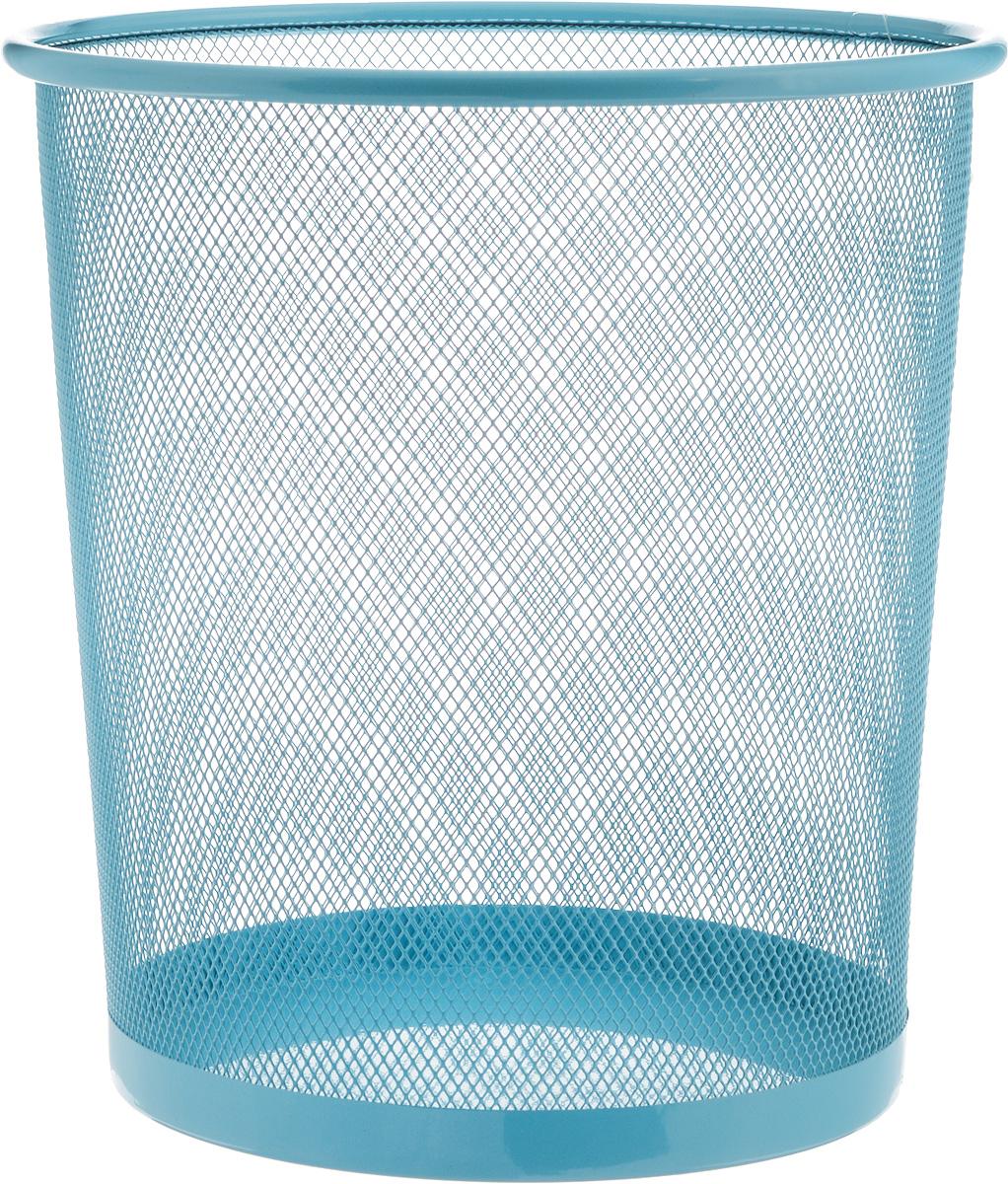 Корзина для мусора Zeller, цвет: голубой, 26 х 26 х 27,8 смHM-2151_бежевыйОригинальная корзина для мусора Zeller изготовлена из высококачественного металла. Такое изделие идеально подходит для использования как дома, так и в офисе. Корзина имеет сплошное дно, а стенки изделия оформлены перфорацией в виде сетки.Стильный дизайн и яркая расцветка прекрасно подойдет для любого интерьера. Диаметр (по верхнему краю): 26 см.Высота: 27,8 см.