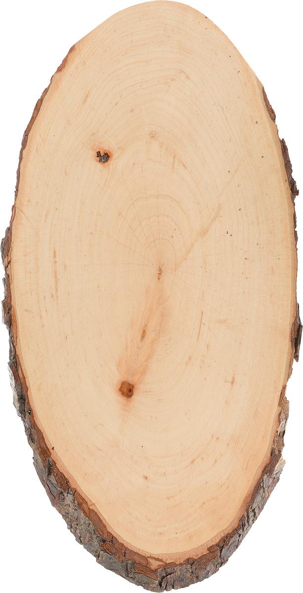 Доска сервировочная Kesper, 38 х 19 х 1,5 см54 009312Доска сервировочная Kesper изготовлена из натурального, экологически чистого материала - дерева ольхи. Специальная обработка обеспечивает прочность и долгий срок службы. Изделие имеет нестандартную форму, обладает высокими антибактериальными свойствами, имеет приятный древесный аромат. Предназначено для нарезки и сервировки вторых блюд и закусок, также идеально подойдет для сервировки суши. Не рекомендуется мыть в посудомоечной машине.