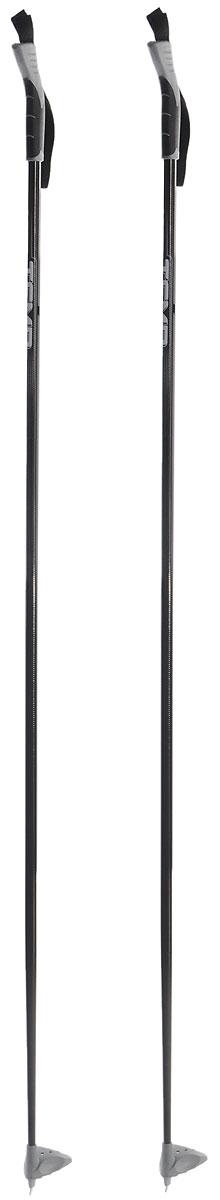 Палки лыжные Larsen Temp, длина 150 см3B287Качественные лыжные палки Larsen Temp 150 отлично подойдут для прогулочного катания. Модель выполнена из стекловолокна. Полиуретановая рукоятка имеет удобный хват, благодаря которому рука не мерзнет и не скользит. Темляк-стропа удобно надевается и надежно поддерживает кисть. Большая пластиковая лапка с твердосплавным наконечником не проваливается в снег.Спортивные палки подойдут как начинающим лыжникам, так и опытным спортсменам.Длина палок: 150 см.