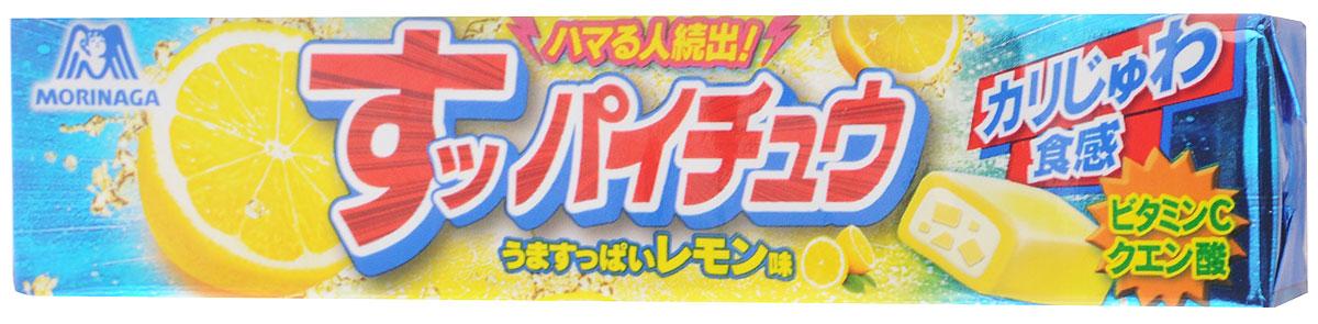 Morinaga Suppai-Chew Lemon жевательные конфеты, 12 шт0120710Жевательные конфеты со вкусом лимона очень приятны на вкус. Имеют мягкую текстуру, постепенно тают во рту, оставляя после себя сладкий вкус.Уважаемые клиенты! Обращаем ваше внимание, что полный перечень состава продукта представлен на дополнительном изображении.
