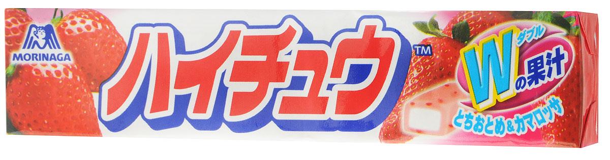 Morinaga Hi-Chew Strawberry жевательные конфеты, 12 шт0120710Мягкие жевательные конфеты Morinaga со вкусом клубники очень приятны на вкус. Имеют мягкую текстуру, постепенно тают во рту, оставляя после себя сладкий вкус.Уважаемые клиенты! Обращаем ваше внимание, что полный перечень состава продукта представлен на дополнительном изображении.