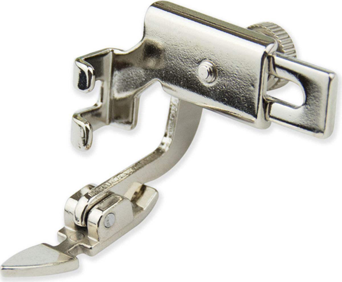 Лапка для швейной машины Aurora, для молнии, узкая, с адаптером лапка для швейной машины aurora для окантовывания края отделочной тесьмой