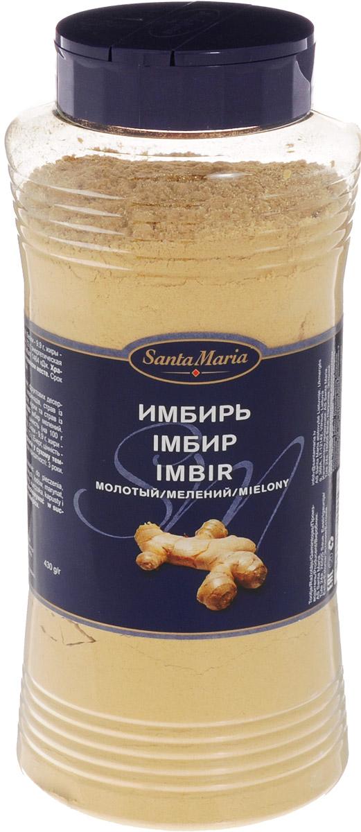 Santa Maria Имбирь молотый, 430 г0120710Имбирь молотый Santa Maria отлично подойдет для выпечки, фруктовых десертов, мороженого, маринадов, мясных и овощных блюд, а также блюд азиатской кухни.