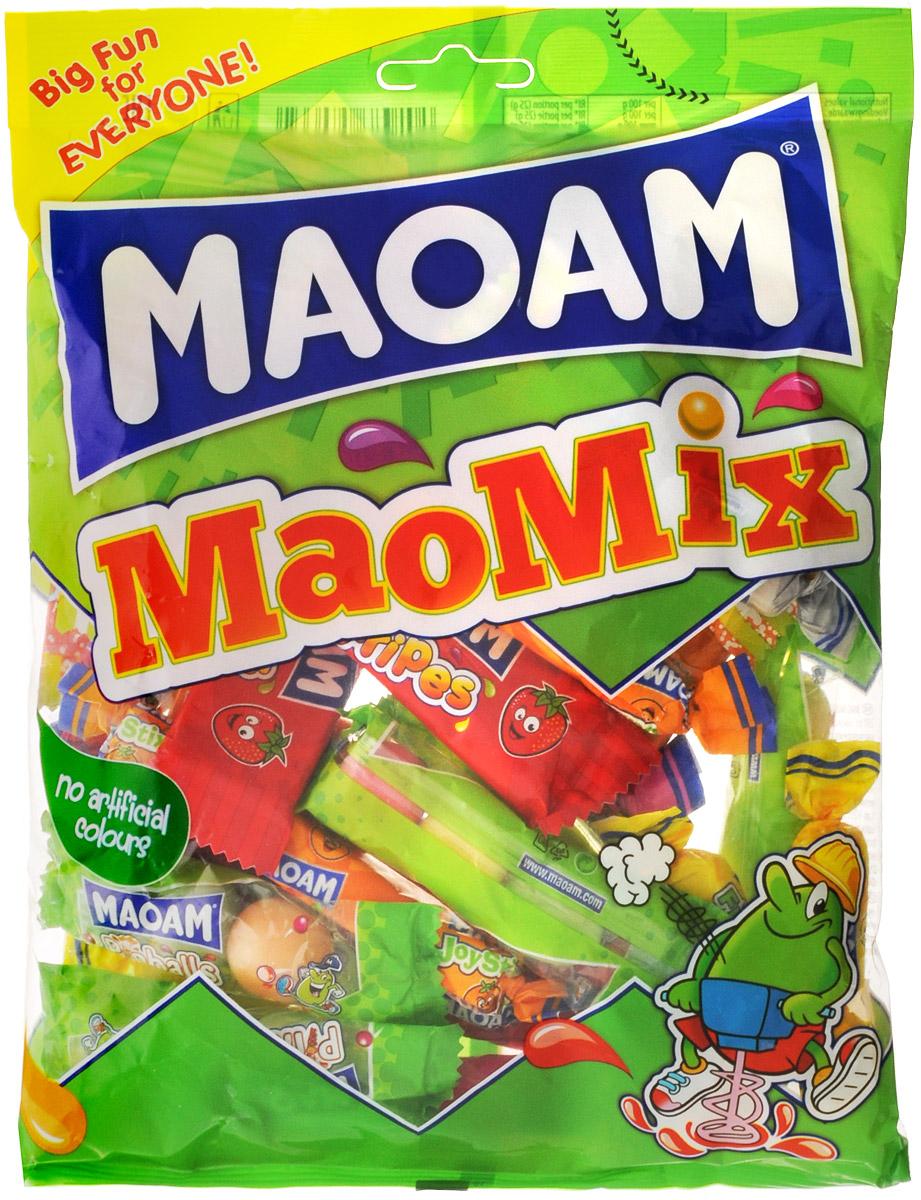 Maoam Mao Mix жевательные конфеты, 250 г0120710Правильный выбор для любителей жевательных конфет - Maoam Mao Mix. Жевательные конфеты представлены в самых разнообразных формах - кубики, драже и пластинки, каждый найдет что-то по душе.Уважаемые клиенты! Обращаем ваше внимание, что полный перечень состава продукта представлен на дополнительном изображении.