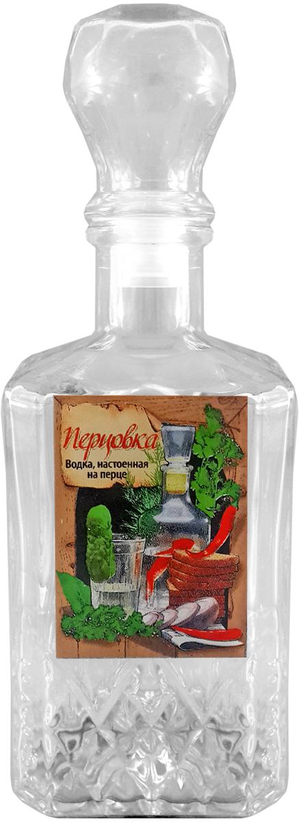 Штоф Kwestor Перцовка. Кристалл, 500 мл5441539Штоф Kwestor Перцовка. Кристалл, выполнен из стекла. Штоф предназначен для хранения и подачи крепких алкогольных напитков. Снабжен крышкой.