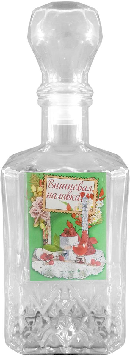 Штоф Kwestor Вишнёвая наливка. Кристалл, 500 млVT-1520(SR)Штоф Kwestor Вишнёвая наливка. Кристалл, выполнен из стекла. Штоф предназначен для хранения и подачи крепких алкогольных напитков. Снабжен крышкой.