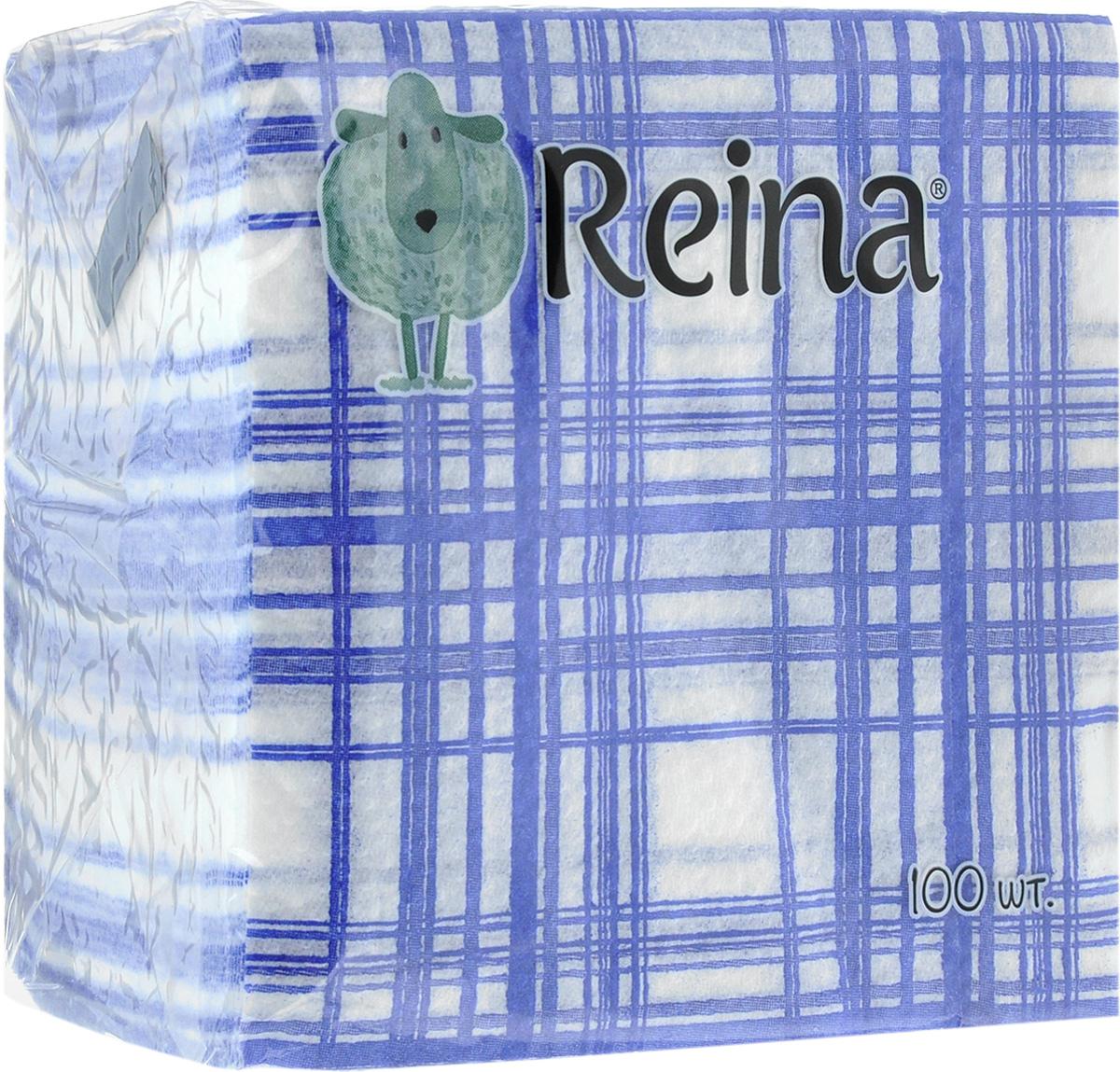 Салфетки бумажные Reina, однослойные, 12 х 12 см, 100 штSZ-14Салфетки бумажные Reina, выполненные из натуральной целлюлозы, станут отличным дополнением любого праздничного стола. Они отличаются необычной мягкостью и оригинальностью.Размер салфетки: 12 х 12 см. Количество слоев: 1.