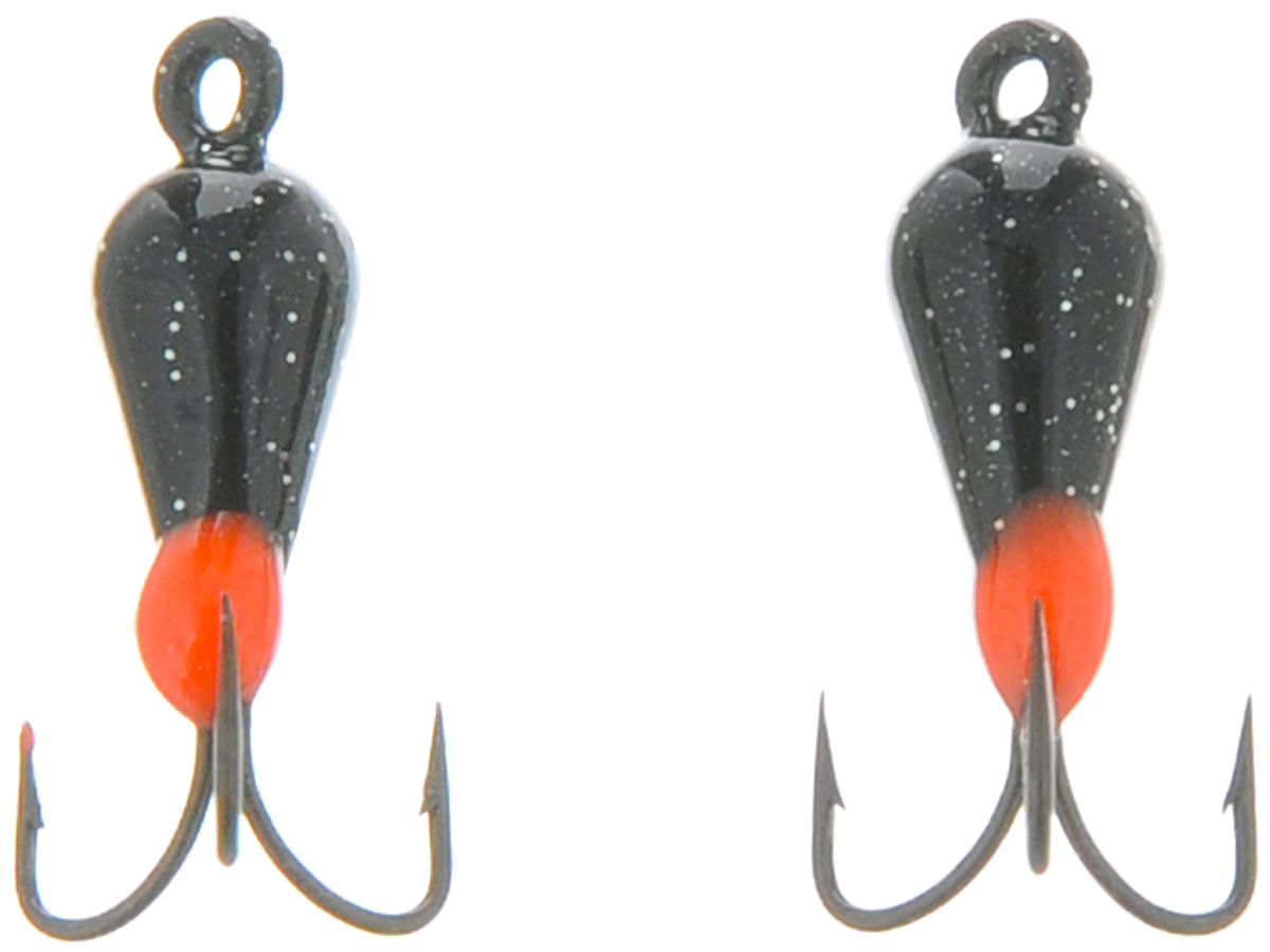 Чертик вольфрамовый Finnex, цвет: черный, красный, 0,56 г, 2 шт4271825Вольфрамовый чертик Finnex - одна из самых популярных приманок для ловли леща, плотвы и другой белой рыбы. Особенно хорошо работает приманка на всевозможных водохранилищах. Не пропустит ее и другая рыба, в том числе окунь, судак и щука.
