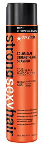 Sexy Hair Шампунь для прочности волос Strong, 300 млMP59.4DШампунь с маслом манго, экстрактом алоэ вера и комплексом аминокислот обеспечивает ломким и возрастным волосам невероятную прочность и предотвращает ломкость до 80% уже после первого применения! Бережно очищает, сохраняя цвет окрашенных волос. Подходит для ежедневного применения.