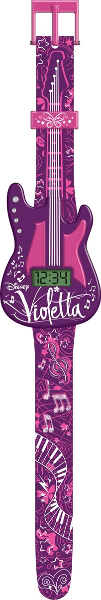 Часы наручные электронные Disney, цвет: розовый. VIRJ23BM8434-58AEСтильные детские часы с корпусом и браслетом из пластика. Циферблат защищен от повреждений прочным пластиковым стеклом.Товар изготовлен полностью из пластмассы с питанием от химических источников тока, 1 сменный элемент включен в комплект (LR41 (AG3) 1.5 V).