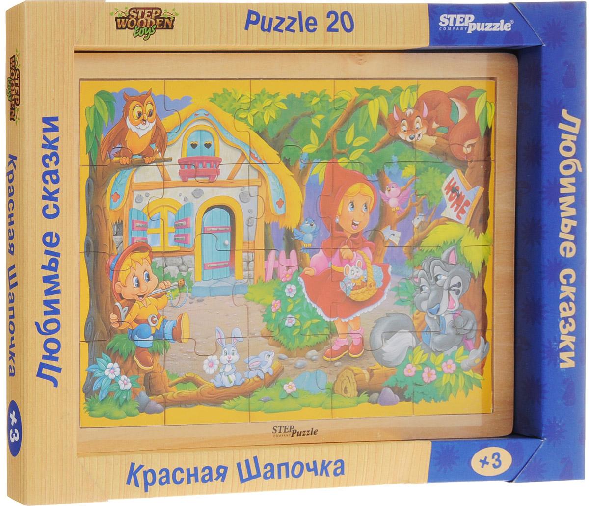 Step Puzzle Пазл для малышей Красная Шапочка step puzzle пазл для малышей fisher price 91224