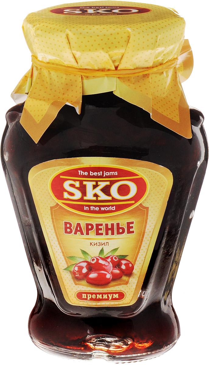 SKO варенье из кизила, 400 г11009Варенье из кизила SKO - армянское варенье, приготовленное по домашним рецептам и современным технологиям, не содержит пектина.Может использоваться для приготовления пирогов, тортов и других разнообразных десертов, а также в качестве самостоятельного лакомства. Варенье из кизила - это не только вкусное, но и чрезвычайно полезное лакомство. Варенье из кизила употребляют при проблемах с желудочно-кишечным трактом, расстройствах стула, заболеваниях почек, печени, суставов, головных болях. Оказывает свое полезное влияние кизиловое варенье на кожу, на неправильный обмен веществ, вызывающий полноту, на лечение таких простудных заболеваний, как ангина, грипп, ОРВИ. Уважаемые клиенты! Обращаем ваше внимание, что полный перечень состава продукта представлен на дополнительном изображении.