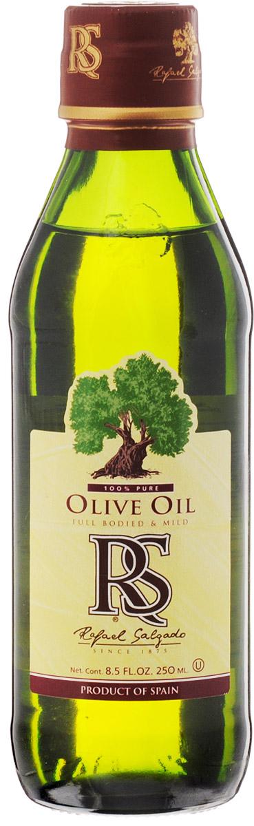 Rafael Salgado масло оливковое, 250 мл0120710Оливковое масло Rafael Salgado - это смесь масла Extra Virgin и масла, полученного путем рафинации оливкового масла первого отжима. Благодаря добавлению масла Extra Virgin, рафинированное оливковое масло приобретает мягкий вкус и тонкий аромат. Оливковое масло устойчиво к термическому окислению и при многократном использовании не образует канцерогенные вещества, поэтому идеально подходит для жарки и фритюра.Основанная 140 лет назад компания Rafael Salgado является одним из крупнейших производителей оливкового масла в Испании и поставляет сегодня свою продукцию более чем в 90 стран мира. Уважаемые клиенты! Обращаем ваше внимание, что полный перечень состава продукта представлен на дополнительном изображении.