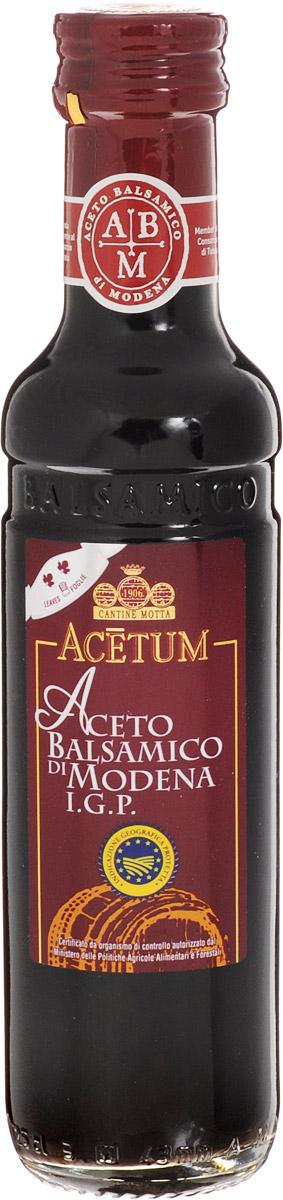 Acetum Росса бальзамический уксус из Модены, 250 мл0120710Именно из итальянского города Модена, славящегося на весь мир производством лучшего бальзамического уксуса, происходит бальзамический уксус Aceto Рocca. Знак сертификации I.G.P. подтверждает, что каждая бутылка произведена только с использованием местного сырья в соответствии с установленным строгим регламентом.Уксус обладает мягким с фруктовыми нотками вкусом и красивым красноватым цветом. Является прекрасным дополнением к вареным и свежим овощам, рыбным и мясным блюдам, а также подходит в качестве основы для салатных заправок и маринадов.Уважаемые клиенты! Обращаем ваше внимание, что полный перечень состава продукта представлен на дополнительном изображении.