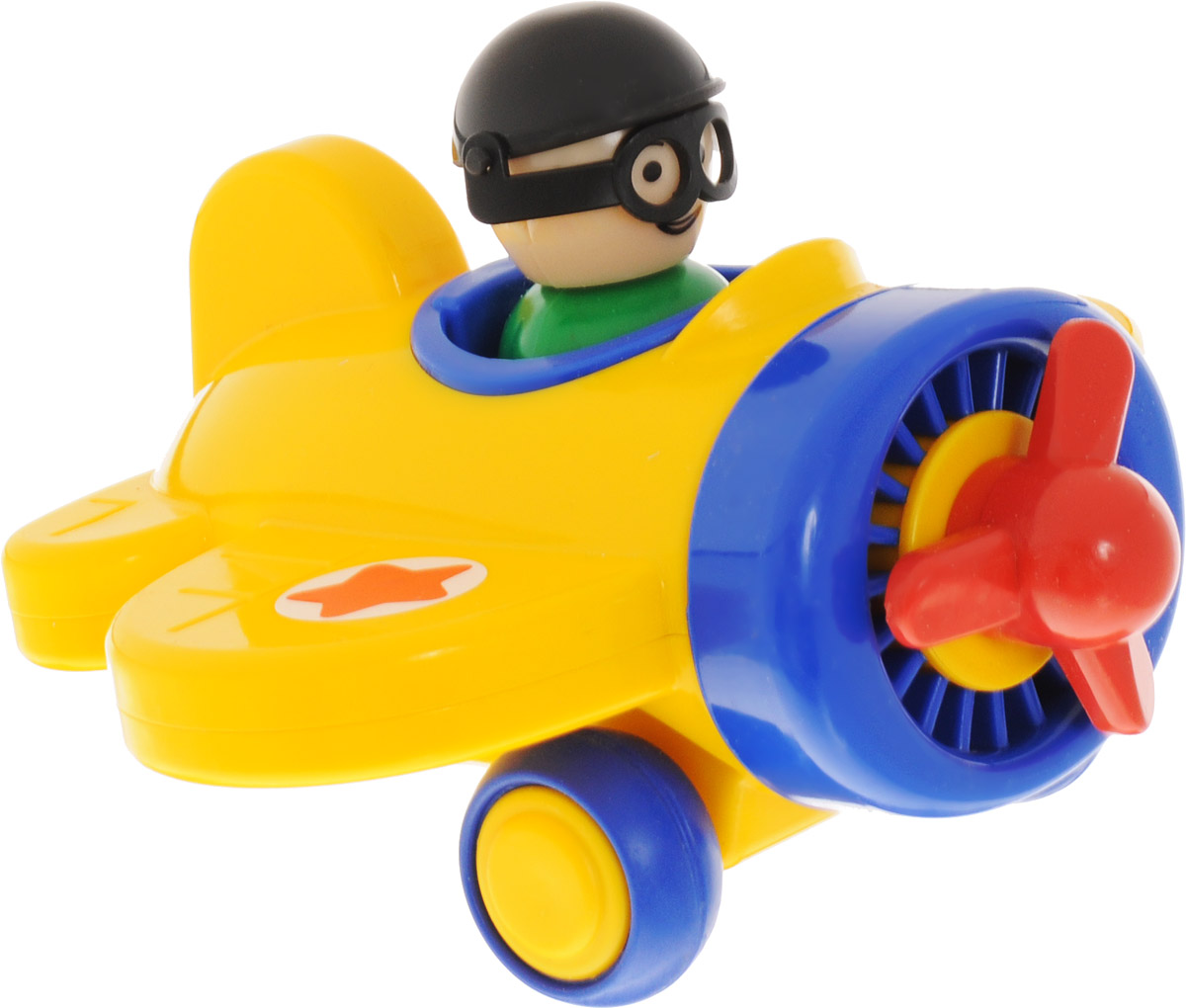 Форма Самолетик Детский сад цвет желтый