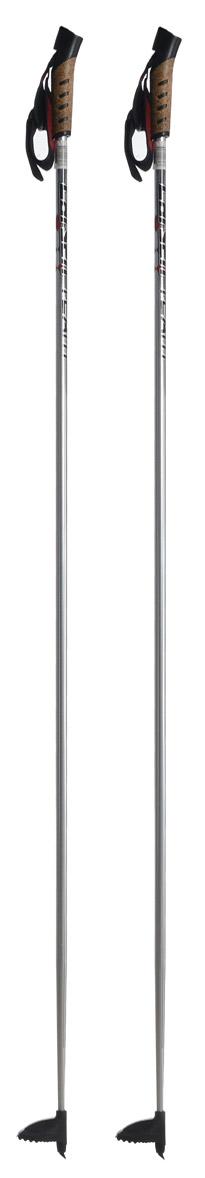 Палки лыжные Larsen Team, алюминиевые, длина 150 см221853-150Спортивные палки Larsen Team - это превосходный выбор для любителей активного катания на лыжах. Модель выполнена из легкого алюминия. Рукоятка выполнена из синтетической пробки и полипропилена, она имеет удобный хват, рука не мерзнет и не скользит по ручке. Гоночный темляк с конструкцией капкан удобно надевается и надежно поддерживает кисть. Облегченная лапка с твердосплавным наконечником не проваливается в снег.Спортивные палки подойдут как начинающим лыжникам, так и опытным спортсменам.Длина палок: 150 см.