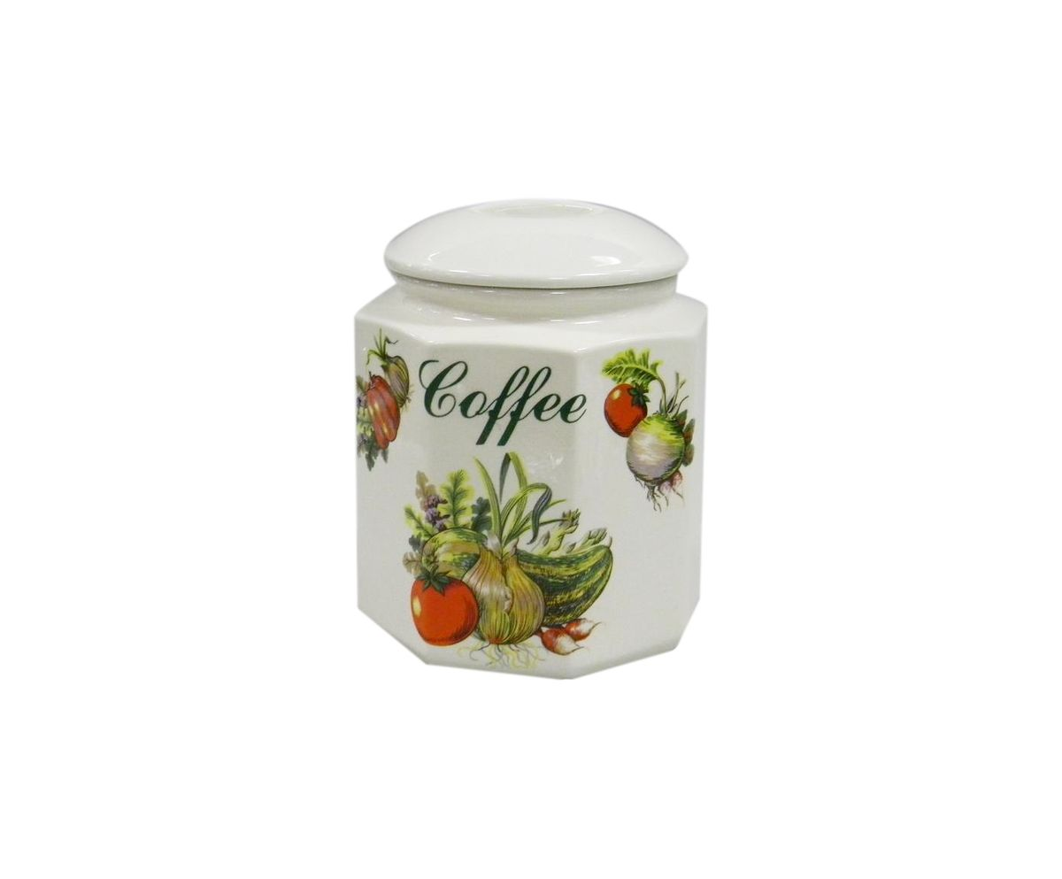 Банка для сыпучих продуктов Melba Овощи, с крышкойVT-1520(SR)Банка для сыпучих продуктов Melba Овощи прекрасно подойдет для хранения различных сыпучих продуктов: чая, кофе, сахара, круп и многого другого. Крышка герметично закрывается, что позволяет дольше сохранять продукты свежими. Изящная емкость не только поможет хранить разнообразные сыпучие продукты, но и стильно дополнит интерьер кухни.