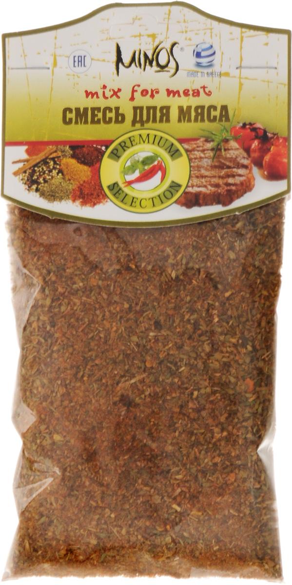 Minos Смесь для мяса, 50 г15214Приправы и овощные смеси сегодня незаменимы на кухне любой хозяйки. Без приправ хорошая кухня немыслима. Приправы придают особенный оригинальный вкус любимым блюдам, позволяют тратить на их приготовление меньше времени и усилий, содержат необходимые витамины и полезные микроэлементы.Стоит добавить горсточку приправы Minos в готовящееся блюдо, как оно тотчас же приобретет новый привкус и нежный аромат. Но кроме этого, специи и пряности благотворно влияют на самочувствие и на организм в целом. Мягкий, сбалансированный вкус приправ прекрасно дополнит и украсит вкус блюда на любом столе. В греческой кухне приправы и специи используются гораздо чаще, чем в других средиземноморских кухнях. К приготовлению каждого блюда относятся с большой любовью и с определенным подходом. Будь то мясо, рыба или овощные блюда, в каждом из них обязательно будет использоваться приправа или специя, соответствующая ему. Благодаря этому греческая кухня славится своим бесподобным вкусом и ароматом. При создании продуктов Minos уделяется огромное внимание их качеству и содержанию. Из выращенных с любовью овощей и трав выбираются лучшие, бережно высушиваются, чтобы сохранить их природный вкус и аромат. Сочетание специй и трав в составе смеси правильно подобрано и идеально подходит к определенному блюду, придавая ему неповторимость. Все ингредиенты в составе смеси соответствуют наивысшему качеству.Готовьте на здоровье и с вдохновением!Уважаемые клиенты! Обращаем ваше внимание, что полный перечень состава продукта представлен на дополнительном изображении.