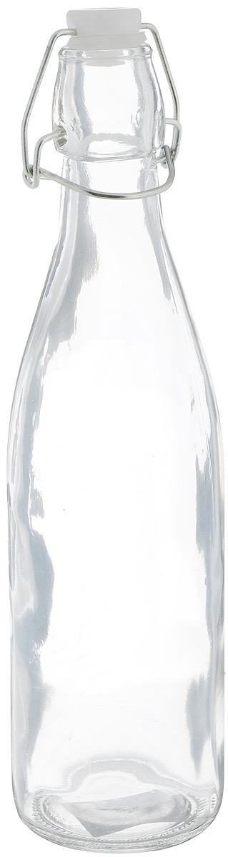 Емкость для масла и уксуса Zeller, 500 мл. 19712Ветерок 2ГФЕмкость Zeller выполнена из прочного стекла и предназначена для хранения масла или уксуса. Крышка закрывается специальной силиконовой пробкой с металлической клипсой, что делает емкость герметичной. Такая емкость украсит любую кухню, внеся разнообразие как в строгий классический стиль, так и в современный кухонный интерьер. Это практичное и функциональное приобретение для вашей кухни.