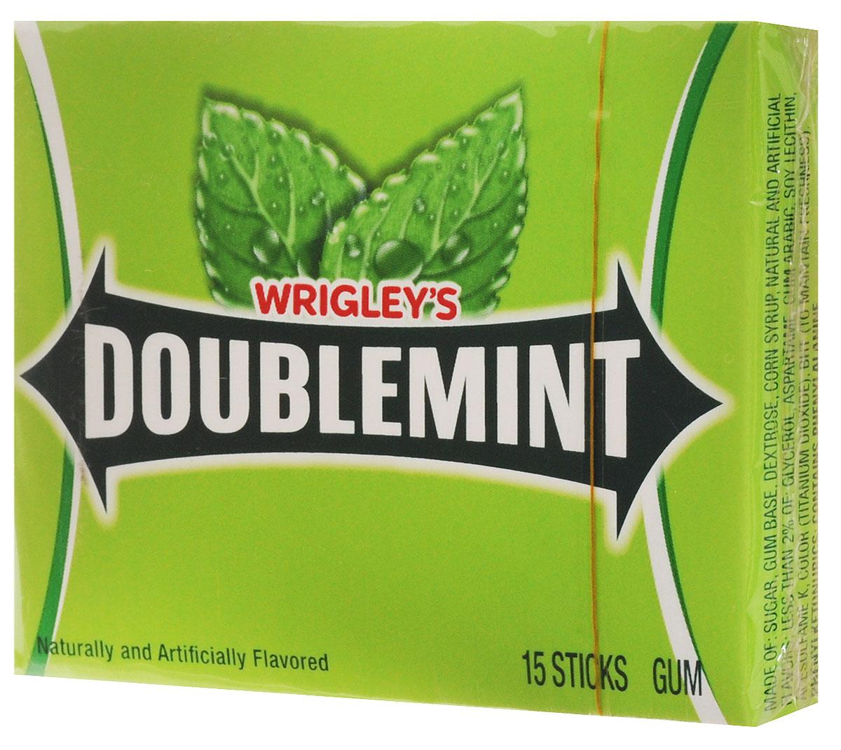 Doublemint жевательная резинка, 40,5 г0120710Жевательная резинка Doublemint имеет мягкий, но насыщенный вкус перечной мяты, умеренную сладость и свежий аромат. Эфирные масла, которые входят в ее состав, гарантируют длительную свежесть дыхания, а также охраняют зубную эмаль от кариеса и налета. Это особенно пригодится тем, кто вынужден принимать пищу вне дома и не имеет возможности почистить зубы и воспользоваться нитью.Уважаемые клиенты! Обращаем ваше внимание, что полный перечень состава продукта представлен на дополнительном изображении.