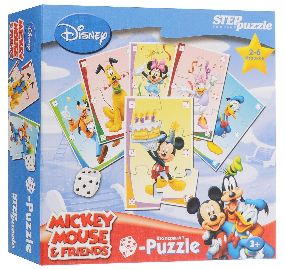 Step Puzzle Пазл для малышей Микки Маус step puzzle пазл для малышей fisher price 91224