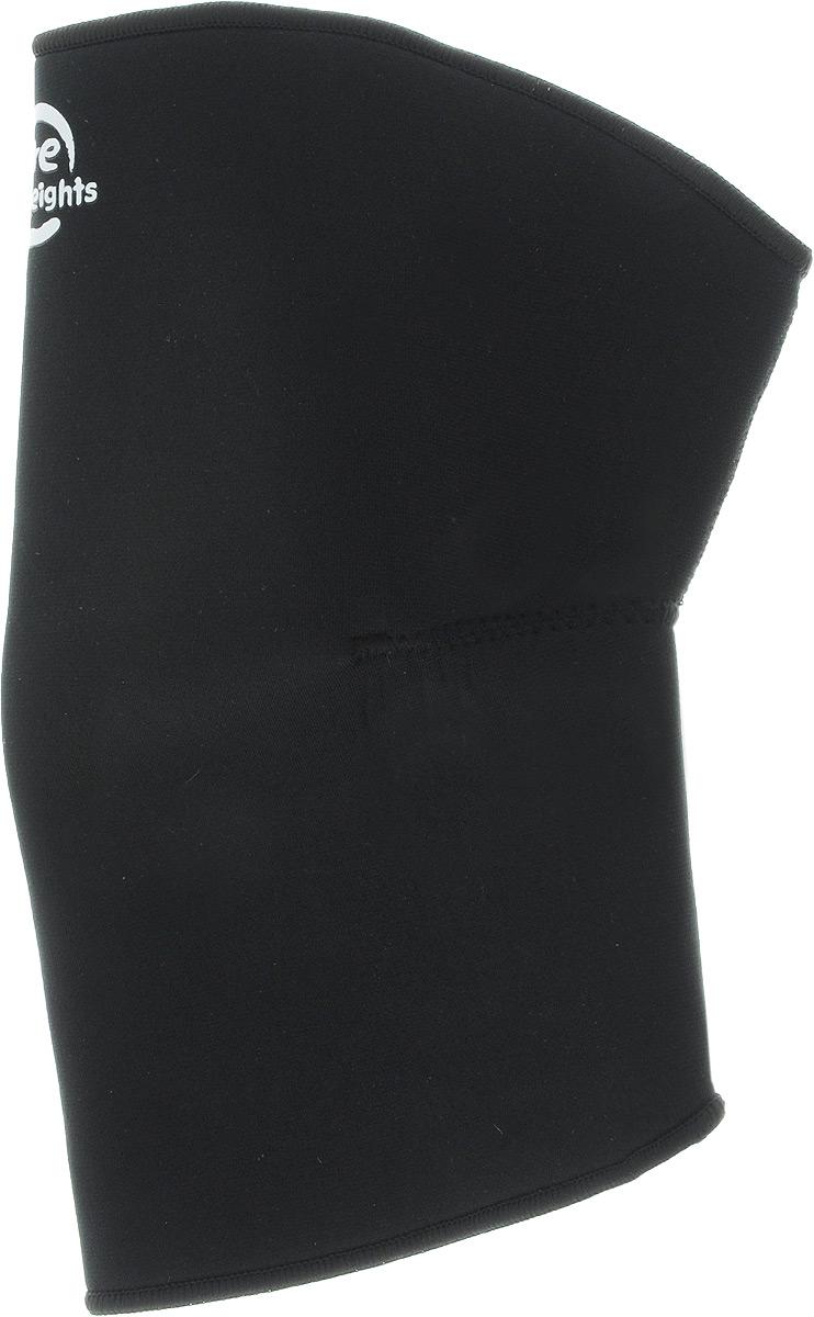 Наколенник Artist Lite Weights, цвет: черный. Размер XL (39-41 см)SF 0085Наколенник Artist Lite Weights предназначен для защиты ножных мышц от растяжений, а также для защиты коленной чашечки от ушибов во время занятий спортом. Неопреновый суппорт колена обеспечивает мягкую поддержку и сохраняет тепло. Также выполняет профилактику травм связок при занятиях спортом и выполнении работ, связанных с физической нагрузкой. Незаменимы суппорты в период восстановления после травм. Суппорт способствует облегчению боли в мышцах и суставах, ограничивает излишнюю подвижность сустава при небольших повреждениях. Преимущества суппорта:обеспечивает мягкую, но надежную поддержку и компрессию ослабленных мышц, не ограничивая при этом подвижность и не препятствуя нормальной циркуляции крови;способствует уменьшению отеков, снятию усталости и напряженности мышц, помогает ослабить болевые ощущения;для дополнительного удобства суппорт имеет анатомическую форму и плоские швы;толщина ткани 3 мм;изготовлен из легкого, дышащего материала, что позволяет носить суппорт в течение длительного времени.