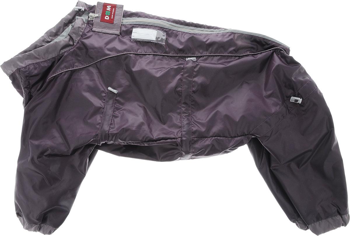 Комбинезон для собак Dogmoda  Doggs , для девочки, цвет: фиолетовый. Размер XL