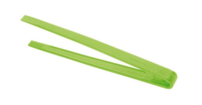 Щипцы кулинарные Tescoma Space Tone, цвет: зеленый, длина 28 см115510Кулинарные щипцы Tescoma Space Tone, выполненные из высококачественного термостойкого нейлона, предназначены для комфортных манипуляций с приготавливаемым продуктом. Такими щипцами удобно переворачивать мясо, тефтели, колбаски, рулеты и другие продукты во время приготовления.Щипцы оснащены отверстием, за которое можно их повесить в удобном для вас месте. Выдерживают температуру до +210°С.Можно мыть в посудомоечной машине. Длина щипцов: 28 см.