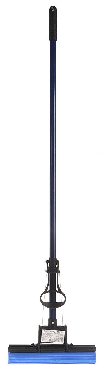 Швабра Home Queen C с отжимом, 100 см57244Швабра Home Queen, выполненная из металла, полипропилена и ПВА, подходит для всех видов напольных покрытий. Швабра имеет отжимной механизм с одним роликом. Отлично впитывает влагу и легко отжимается. Применяется для мытья пола, окон, стен, машин и т.п. Перед применением опустить губку в воду на 10 минут. После размягчения губки швабра готова к эксплуатации.Швабра Home Queen очистит любые виды загрязнений.