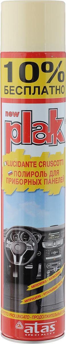 Полироль для приборных панелей Plak Ваниль, 750 млАС-281Полироль Plak Ваниль предназначен для панели приборов, содержит освежитель воздуха продленного действия. Возвращает первоначальный блеск всем пластмассовым, виниловым и резиновым элементам отделки салона автомобиля, создавая на поверхности стойкий антистатический слой, отталкивающий пыль и грязь. Также полироль позволяет создать глянцевое покрытие. Товар сертифицирован.