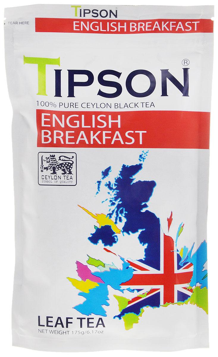 Tipson Английский завтрак черный листовой чай, 175 г101246Требуются огромные усилия, чтобы сохранить традиционные ценности чаепития в стремительном ритме современной жизни. В чайном бренде Tipson удалось осуществить почти невозможное, создав уникальные рецептуры чая, которые отражают лучшие традиции чайного производства и через творческий дизайн раскрывают его новаторский потенциал.Невозможно представить классический английский завтра без чая. Tipson поддерживает эту традицию, развивает ее и дополняет новаторским подходом.